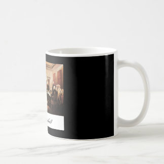 John Trumbull The Declaration of Independence Coffee Mugs