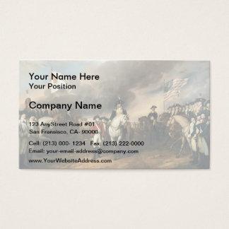 John Trumbull: The Surrender of Lord Cornwallis Business Card
