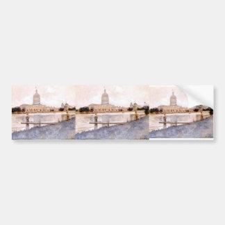 John Twachtman- The Chicago World's Fair Car Bumper Sticker