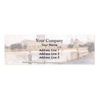 John Twachtman- The Chicago World's Fair Business Card Templates