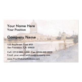 John Twachtman- The Chicago World's Fair Business Cards