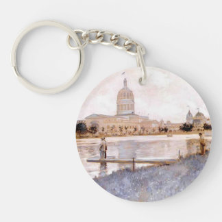 John Twachtman- The Chicago World's Fair Acrylic Key Chain