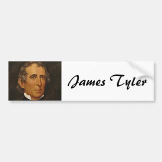 John Tyler 10 Pegatina De Parachoque