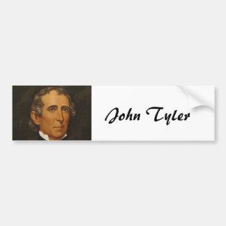 John Tyler 10mo Etiqueta De Parachoque