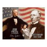 John Tyler - 10mo presidente de los E.E.U.U. Postales