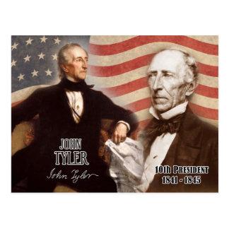 John Tyler - 10mo presidente de los E.E.U.U. Postal