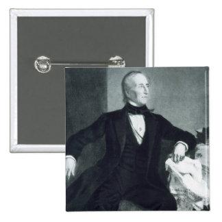 John Tyler 10mo Presidente de los Estados Unidos Pin