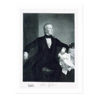 John Tyler, 10mo Presidente de los Estados Unidos Postales