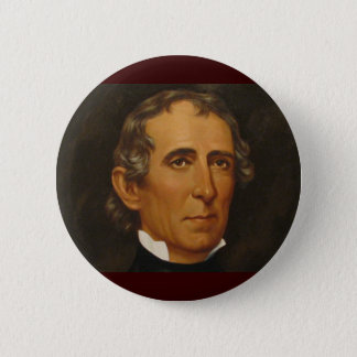 John Tyler 10th Pinback Button