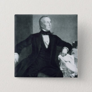 John Tyler, 10th President of the United States of Button