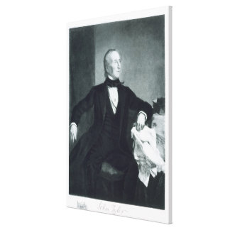John Tyler, 10th President of the United States of Canvas Print