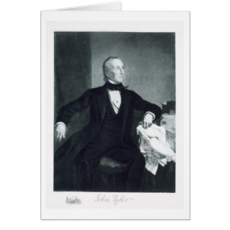 John Tyler, 10th President of the United States of Card