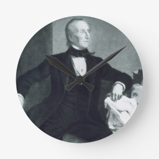 John Tyler, 10th President of the United States of Round Clock