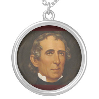 John Tyler 10th Silver Plated Necklace