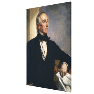 JOHN TYLER Portrait by George P. Alexander Healy Canvas Print