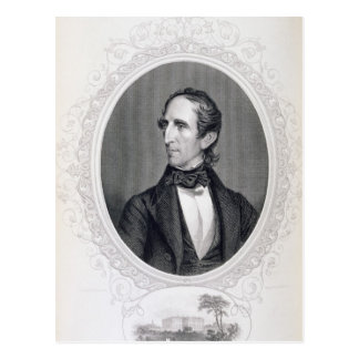 John Tyler Tarjeta Postal