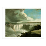 John Vanderlyn Niagara Falls from Table Rock Postcard