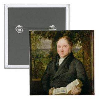 John Varley (1778-1842) 1820 (oil on panel) Button