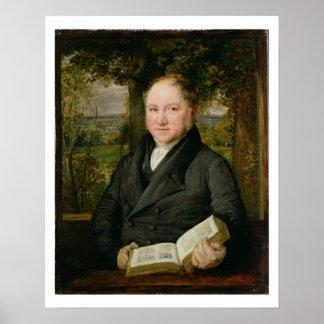 John Varley (1778-1842) 1820 (oil on panel) Poster