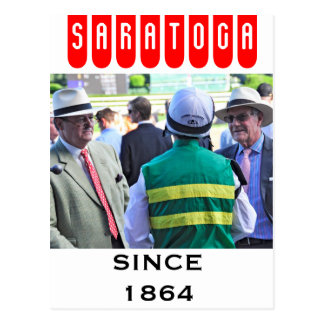 John Velasquez- Saratoga Race Course Postcard