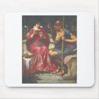 John W Waterhouse - Jason and Medea 1907 Mouse Pads