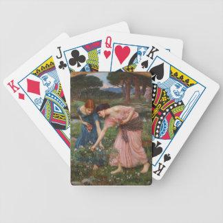 John W. Waterhouse Pre-Raphaelite Playing Cards