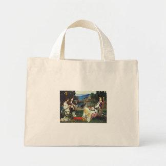 John W Waterhouse - Saint Cecilia (1895) Mini Tote Bag