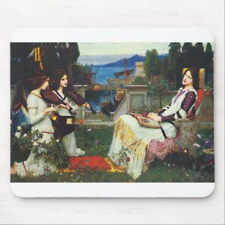 John W Waterhouse - Saint Cecilia 1895 Mouse Pad