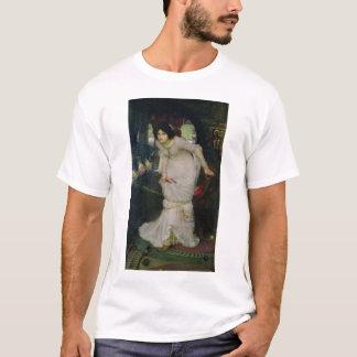 John W Waterhouse - The Lady Of Shallot (1894) T-Shirt
