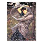 John Waterhouse - Boreas, 1903, artwork Post Cards