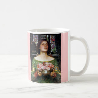John Waterhouse - Gather Ye Rosebuds Classic White Coffee Mug