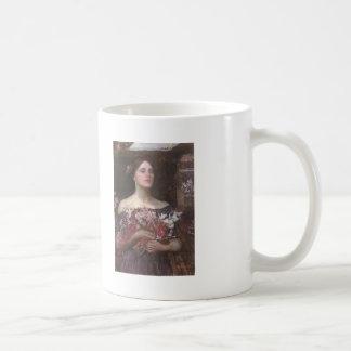 John Waterhouse- Gather Ye Rosebuds or Ophelia Classic White Coffee Mug