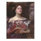 John Waterhouse- Gather Ye Rosebuds or Ophelia Postcard