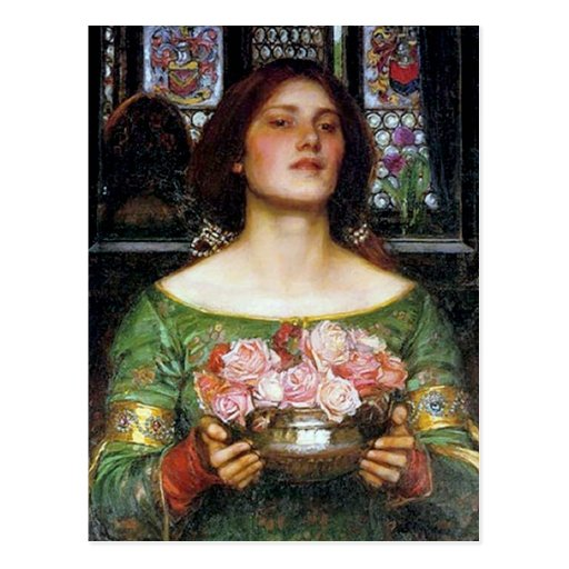 John Waterhouse - Gather Ye Rosebuds Post Cards