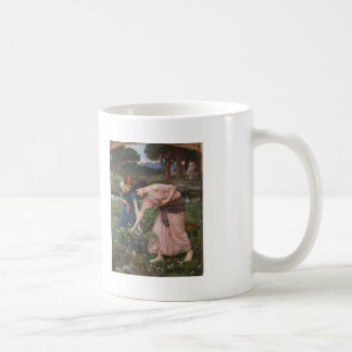 John Waterhouse- Gather Ye Rosebuds While Ye May Classic White Coffee Mug