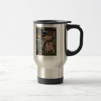 John Waterhouse- Gather Ye Rosebuds While Ye May 15 Oz Stainless Steel Travel Mug
