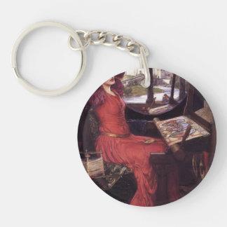 John Waterhouse- Lady of Shalott Key Chain