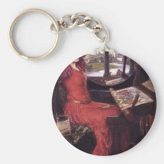 John Waterhouse- Lady of Shalott Keychains