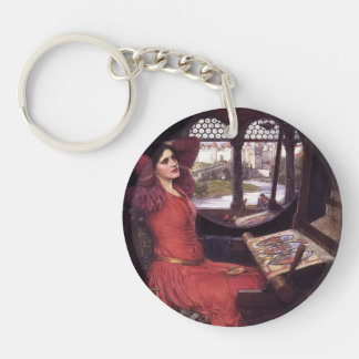 John Waterhouse- Lady of Shalott Keychain