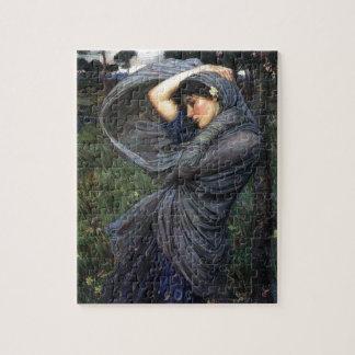 John Waterhouse Pre-Raphaelite Boreas Jigsaw Puzzle