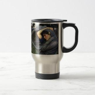 John Waterhouse Pre-Raphaelite Boreas Travel Mug