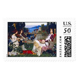 John Waterhouse - Saint Cecilia Postage