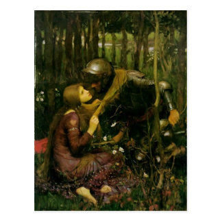 John Waterhouse- The Beautiful Lady Without Pity Postcard