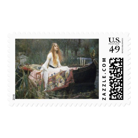 John Waterhouse - The Lady of Shalott Postage