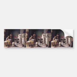 John Waterhouse-Visit of a Sick Child to Temple Bumper Sticker