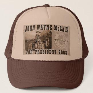 John Wayne McCain '08 Trucker Hat