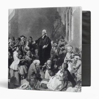 John Wesley preaching Binder
