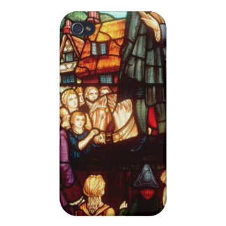 John Wesley Preaching the Gospels in England iPhone 4 Covers