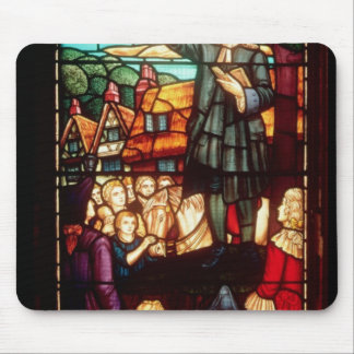 John Wesley  Preaching the Gospels in England Mouse Pad