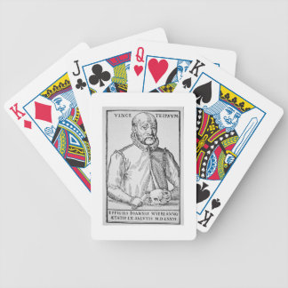 John Wier (1516-88) copy of an illustration from ' Bicycle Playing Cards